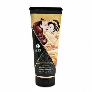 SHUNGA - KISSABLE MASSAGE CREAM ALMOND SWEETNESS 200ML