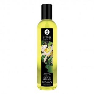 SHUNGA - MASSAGE OLIE ORGANICA - GREEN TEA 250 ML