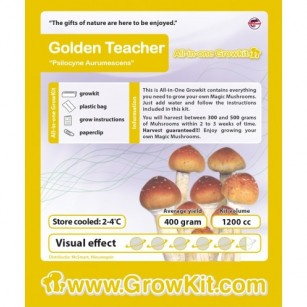 Golden Teacher, All in one Growkit