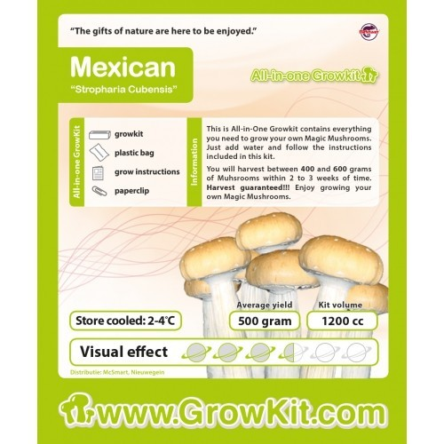 Mexican, All in one Growkit