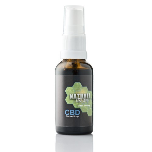 Biologische CBD Spray Naturel 500 mg CBD